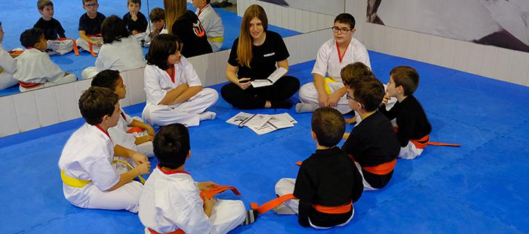 Programa psicopedagógico Artes Marciales niños